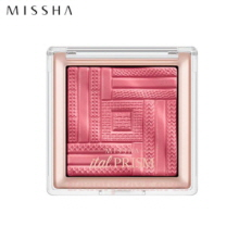 MISSHA Satin Blusher Italprism 7g [Rose Boutique]